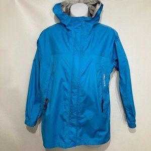 Marmot Kids XL Blue Hooded Nylon Windbreaker